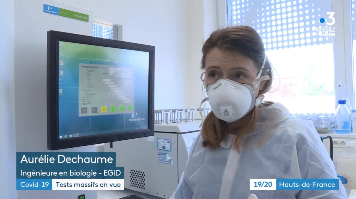 Reportage sur les tests de dépistage COVID-19