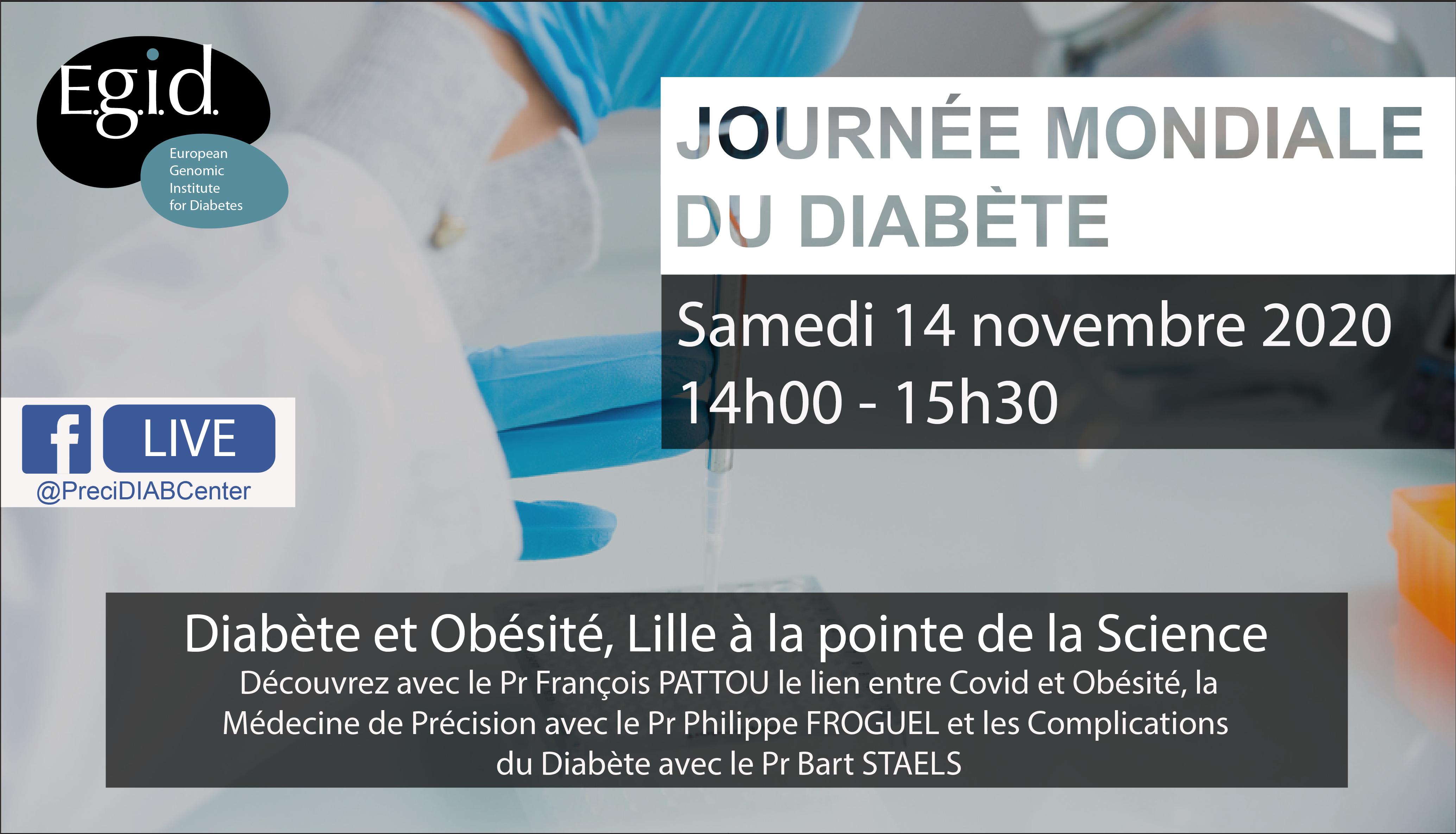 Diabète et obésité, Lille à la pointe de la science
