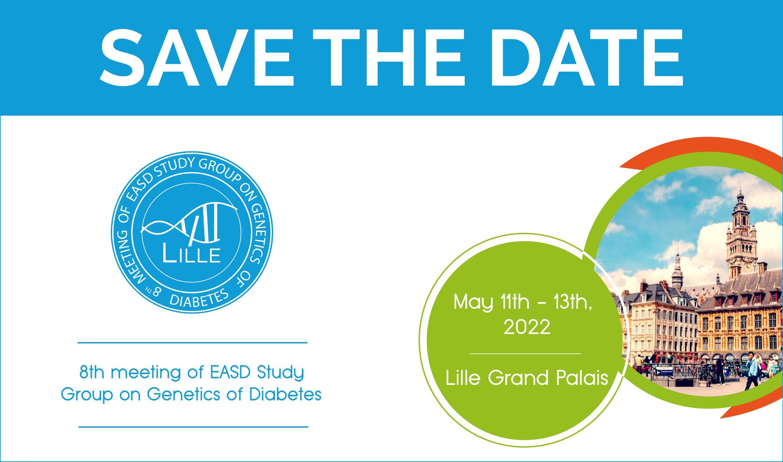 8th Meeting EASD Study Group on Genetics of Diabetes